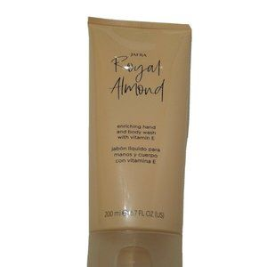 Jafra Royal Almond Enriched Hand and Body Wash with Vitamin E 6.7 OZ